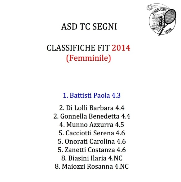 ASD TC SEGNI Femminile