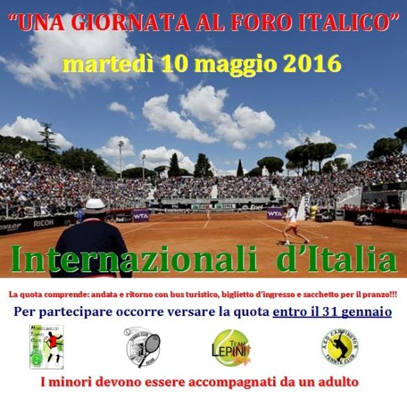 Internazionali di Roma 2016 SENZA quote